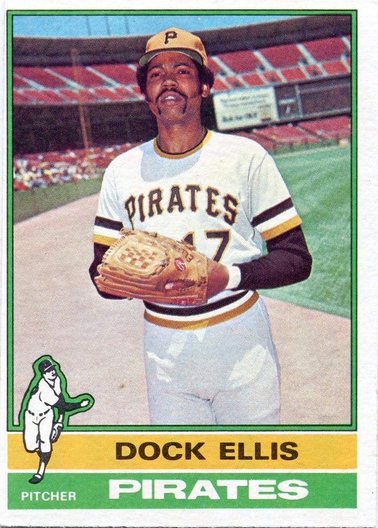 Dock Ellis Pitching