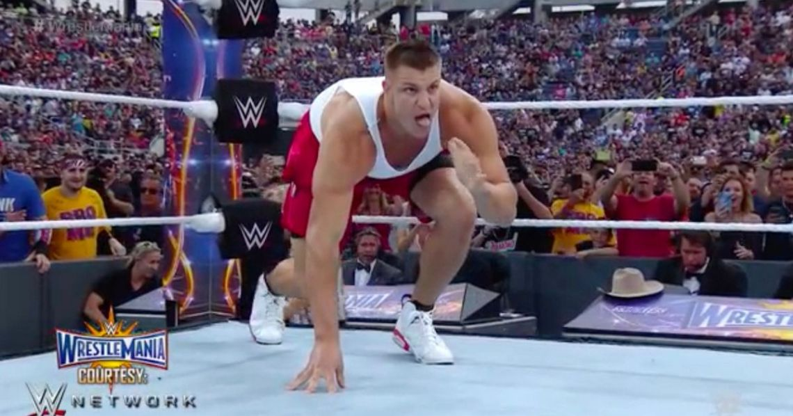 Rob-Gronkowski - WWE